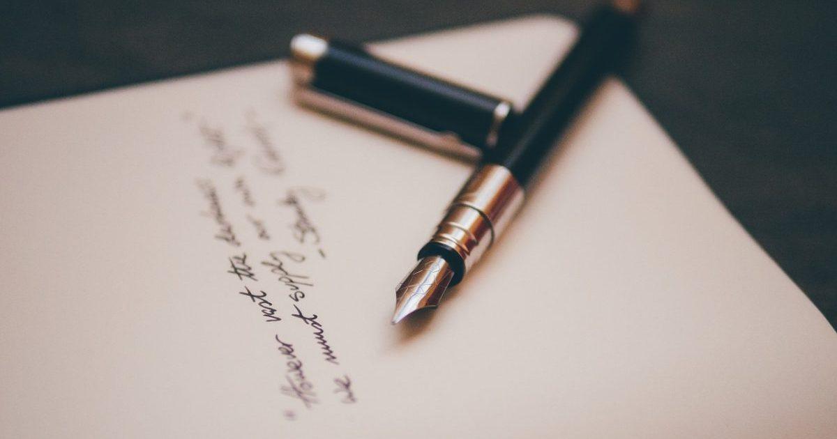 復縁の手紙と万年筆