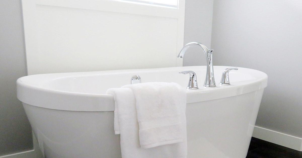 入浴で身を清める