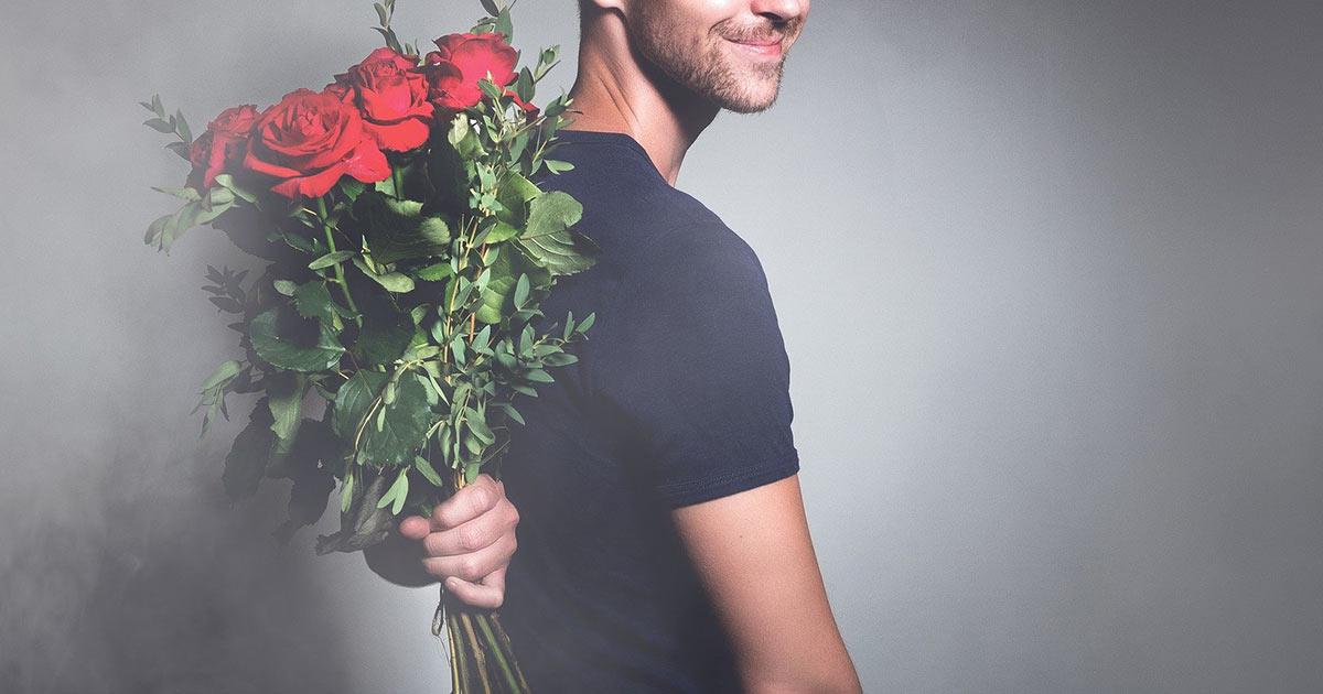 花言葉と男性